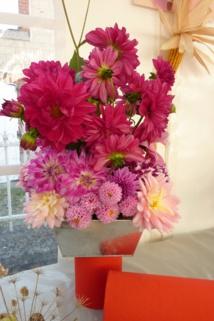 Composition florale du Comité des fêtes