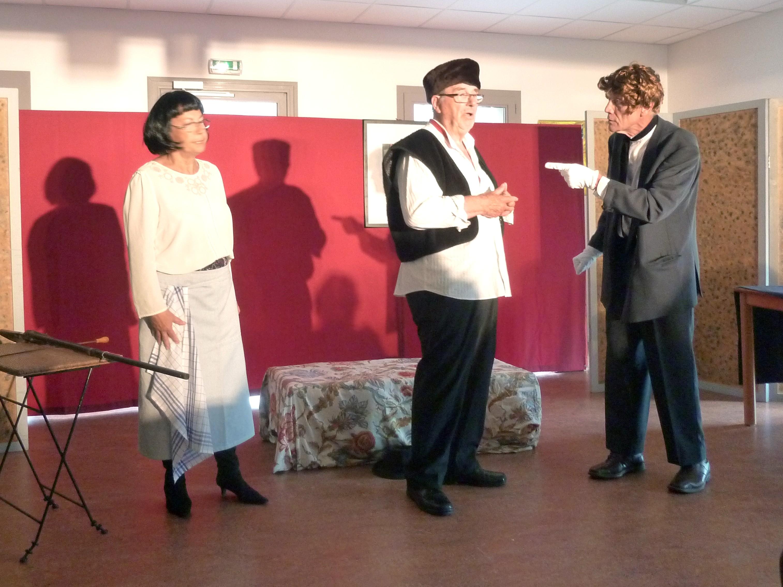 """Théâtre à Saint Jean : """"Vendredi 13"""""""