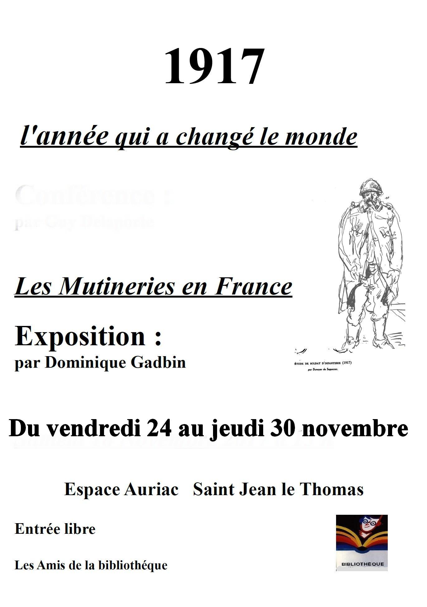 1917 Conférence et exposition