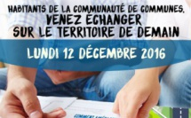 PLU Intercommunal - Invitation au Forum Participatif Elus Habitants le 12 décembre 2016