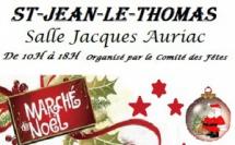 Marché de Noël 2017 à Saint Jean le Thomas