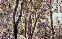 Le Jardin peint par l'artiste