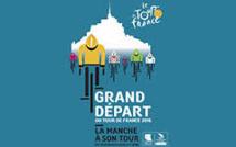 Saint Jean le Thomas sur la route du Tour 2016.