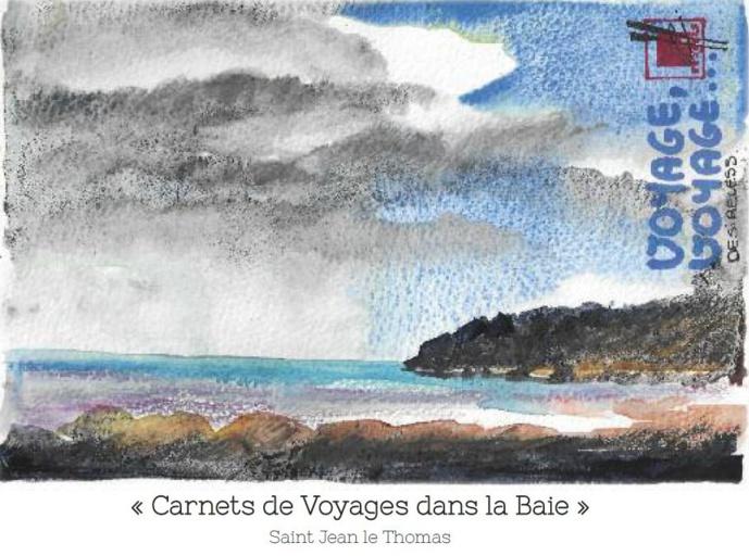 """Carnets de voyages dans la Baie """"Et au bout de la terre, il y a la mer"""": le livre"""