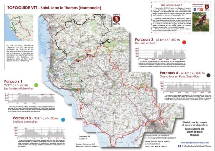 Le topo-guide VTT de Saint Jean le Thomas