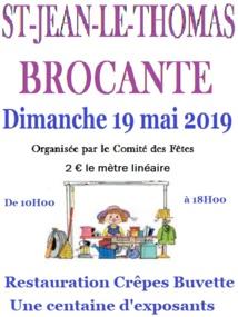 Brocante 2019 Saint Jean le Thomas