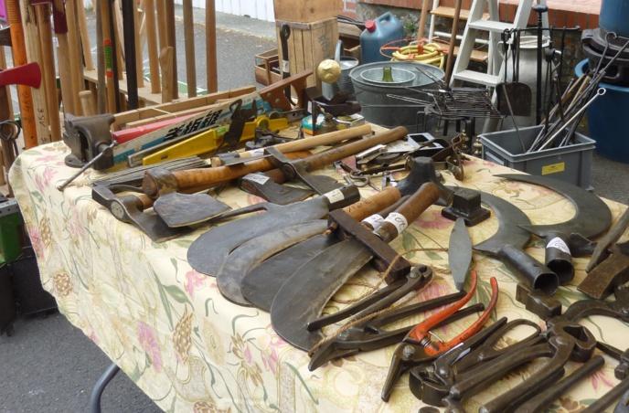 De vieux outils