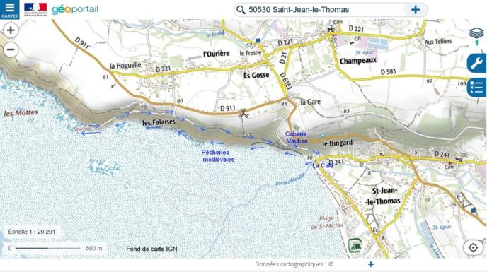A voir, à faire un jour de grande marée à Saint Jean le Thomas ou à proximité