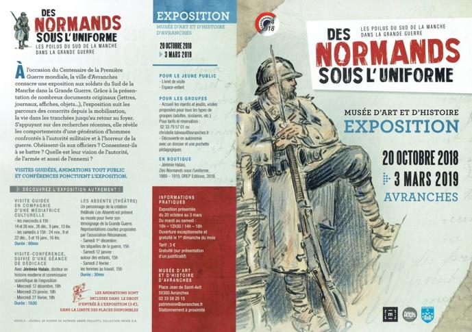 """Exposition : """"Des normands sous l'uniforme"""""""
