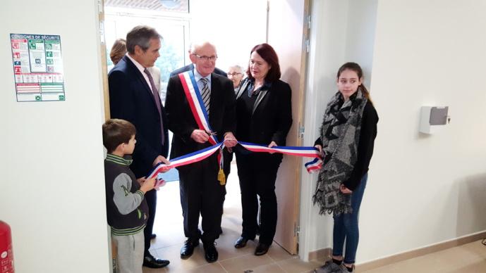 Inauguration de la Salle de Convivialité