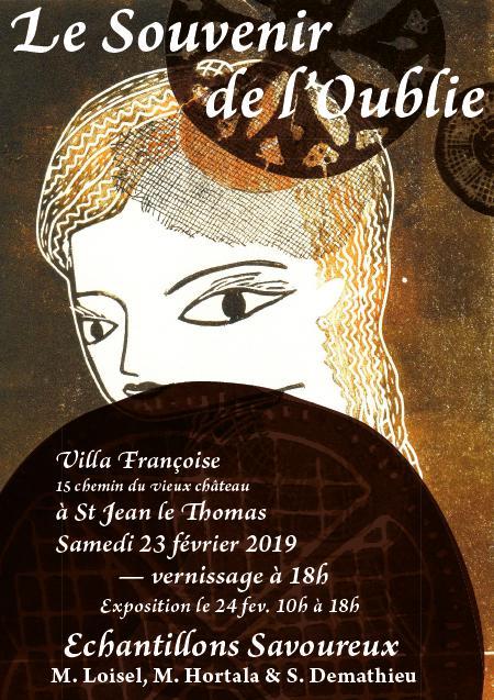 """""""Le souvenir de l'oublie"""", livre d'artistes"""