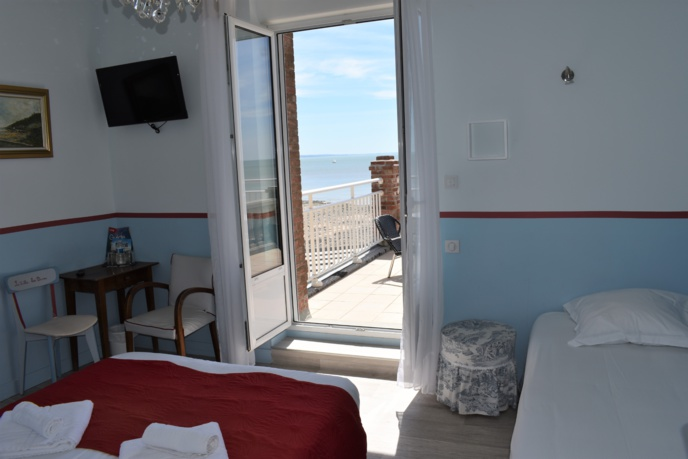 Chambre 42 - La baie - Vue mer