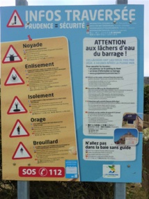 Dangers en Baie du Mont Saint Michel