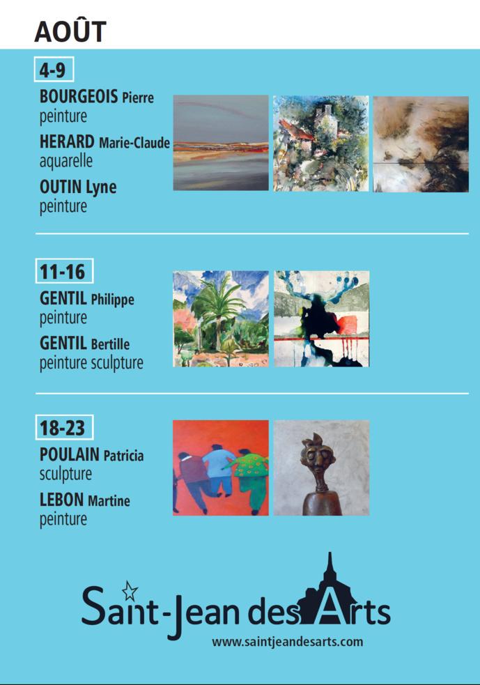 Saint Jean des Arts : saison 2019