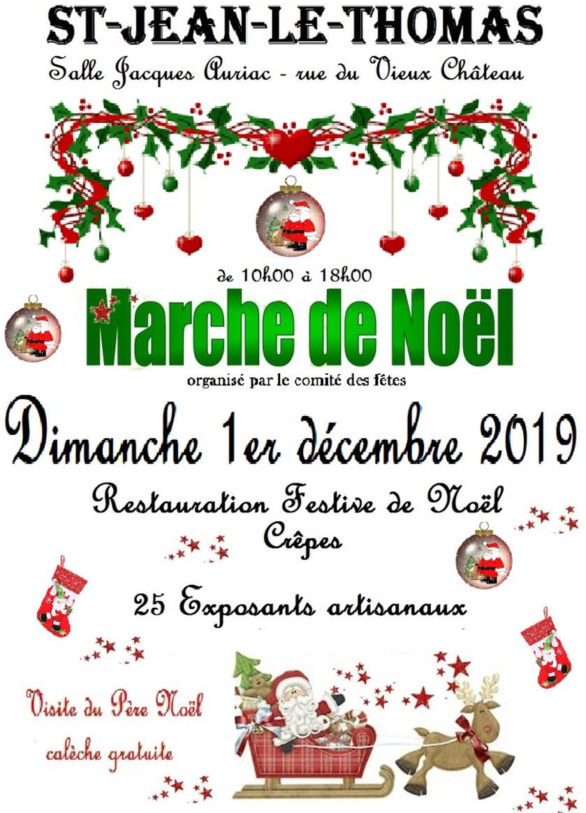Marché de Noël 2019 à Saint Jean le Thomas