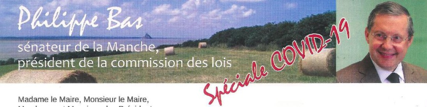 Covid-19 : Informations municipales  (MAJ 23/04- extinction éclairage)