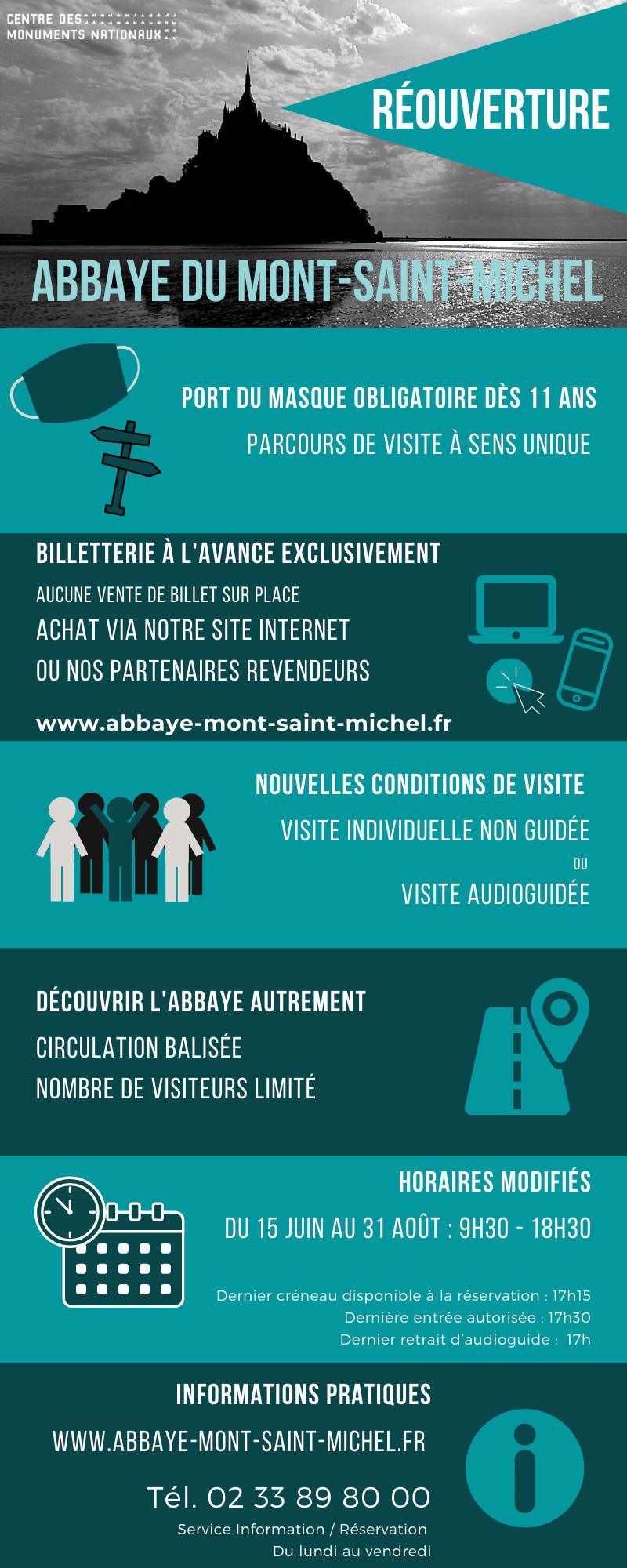 Abbaye du Mont-Saint-Michel : saison 2020