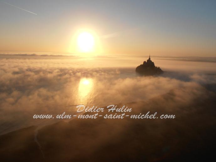 Lever de soleil sur le Mont