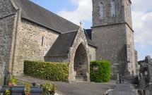 le narthex de l'église de Saint Jean