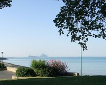 La baie vue de la cale St Michel