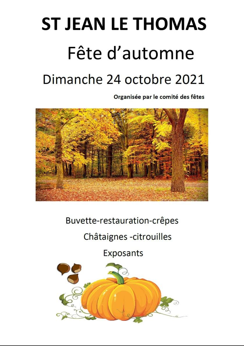 Fête d'automne 2021 : le programme