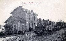La gare de St Jean autrefois