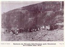 Pièces de monnaie gallo-romaines découvertes à Saint-Jean-le-Thomas (1912)
