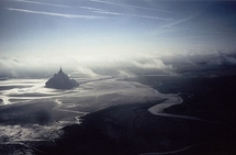 Mont vu du ciel (photos ulm, crédits Didier Hulin)