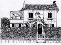 Dessin du Gai-Logis par Phillipe Morel