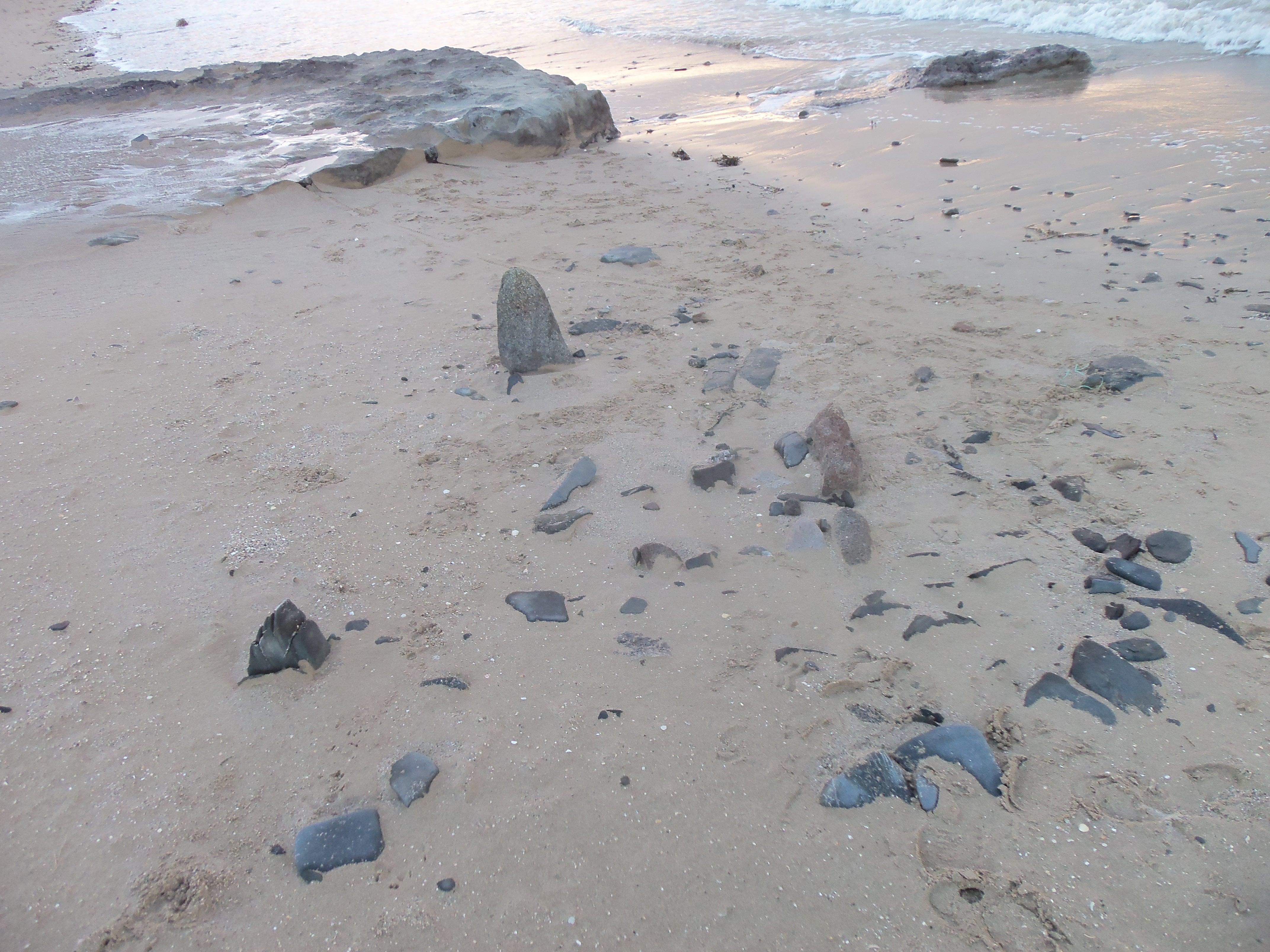 Le four enfoui dans le sable