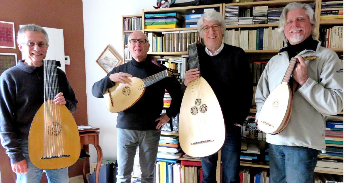 Les musiciens du Trésor d'Orphée