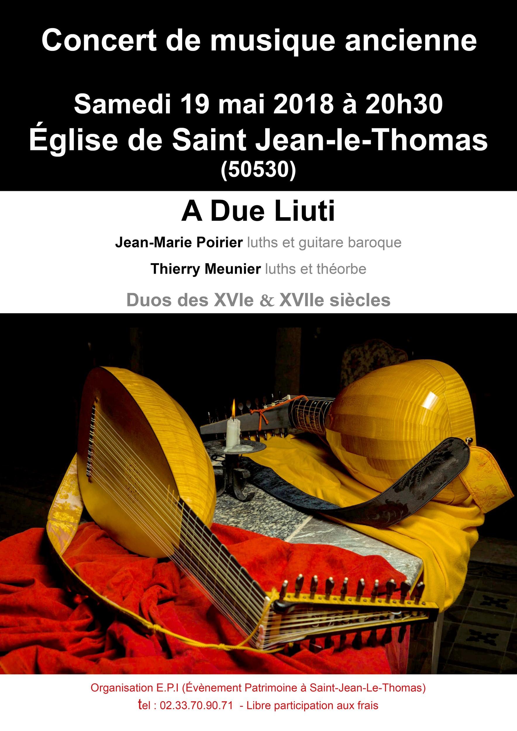 """Concert de musique ancienne par """"a due liuti"""""""