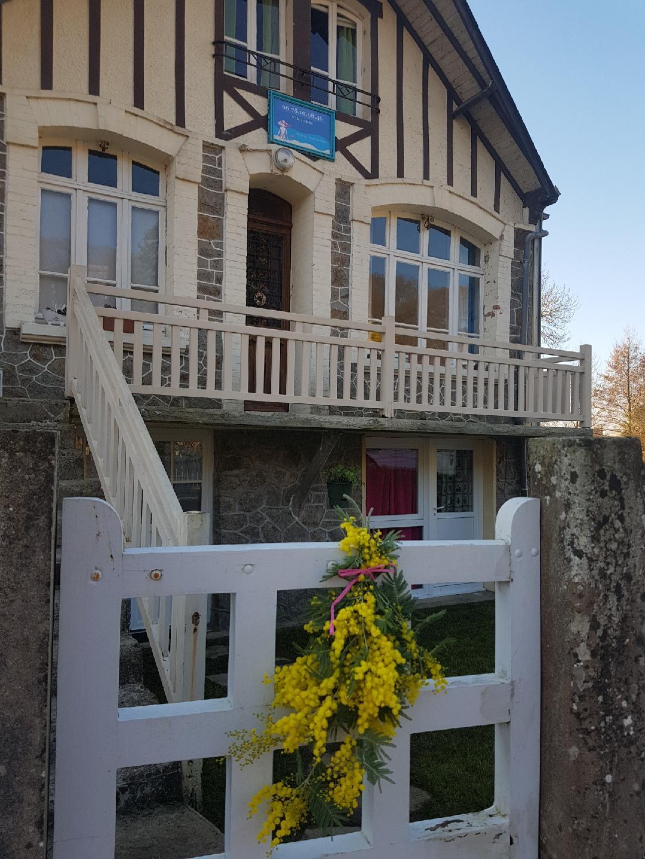 Villa juliette 2 chambres d 39 h tes 2 pers baie du - Chambre d hote baie du mont saint michel ...