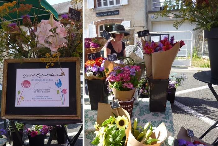Le marché estival : des produits locaux