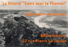 "Exposition : le littoral ""Saint Jean le Thomas"""
