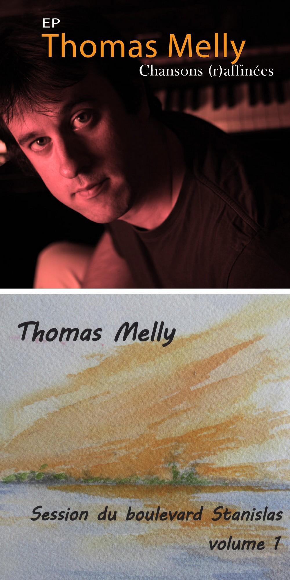 Thomas Melly, auteur, compositeur, interprète