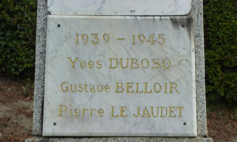 Le souvenir des résistants de St Jean toujours présent.