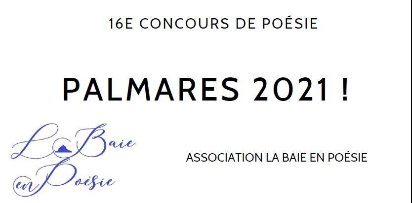 La Baie en Poésie : 16 ème concours - Les Palmarès