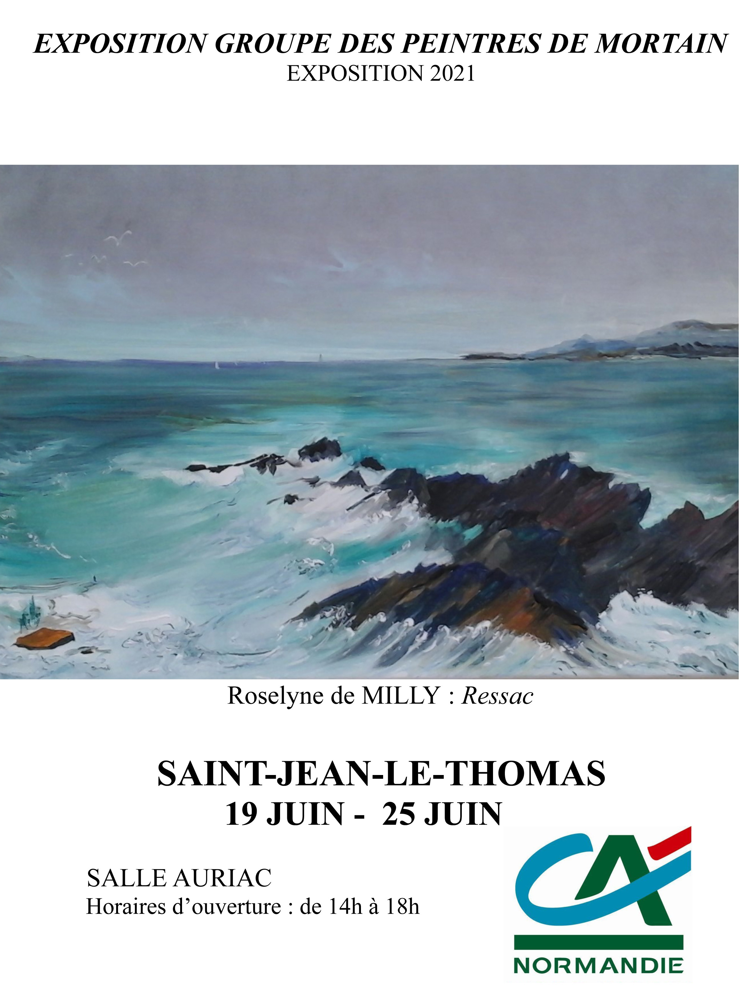 Peinture & Poésie à Saint-Jean-le-Thomas