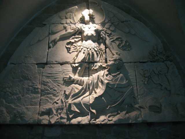 Saint Michel et  Saint Aubert