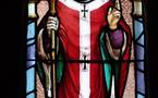 Les vitraux de l'église de Saint Jean le Thomas