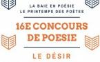 La Baie en Poésie : 16 ème concours