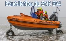 """Bénédiction du SNS 664, bateau de la station """"Les Frégates - Baie du Mont Saint Michel"""""""