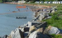 Interdiction de la baignade sur une plage de Saint-Jean-le-Thomas