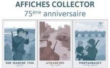 Affiches du 75 ème anniversaire de la bataille de Normandie