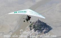 Survol du Mont Saint Michel en ULM
