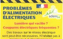 Que faire en cas de problèmes d'alimentation électriques ?